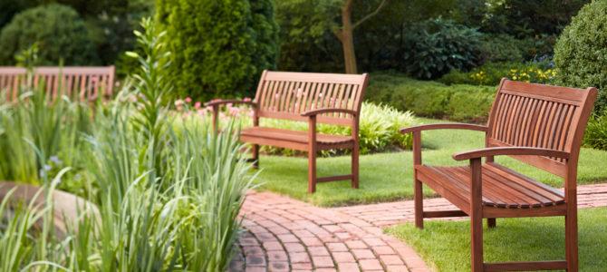 Материал для садовых скамеек